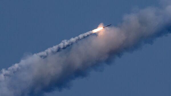 Запуск ракет Калибр по целям террористов в Сирии. 19 сентября 2017