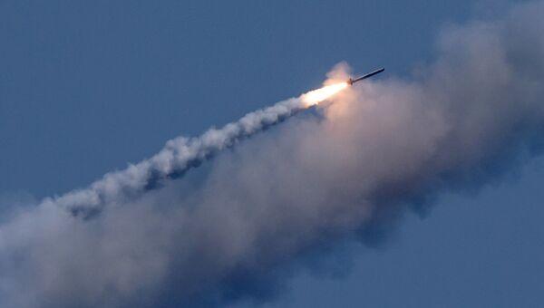 Запуск ракет Калибр по целям террористов в Сирии. Архивное фото