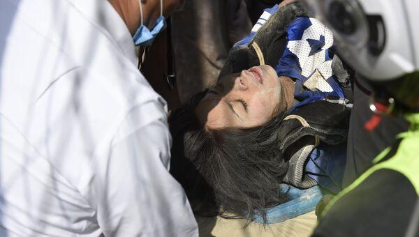 Пострадавшая в результате землетрясения в Мехико. 19 сентября 2017