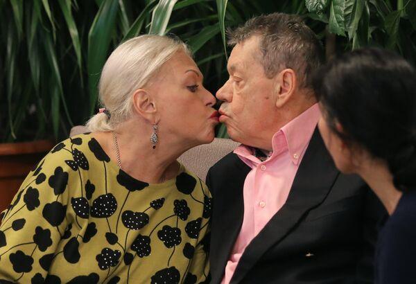 Актер Николай Караченцов и его супруга, актриса Людмила Поргина