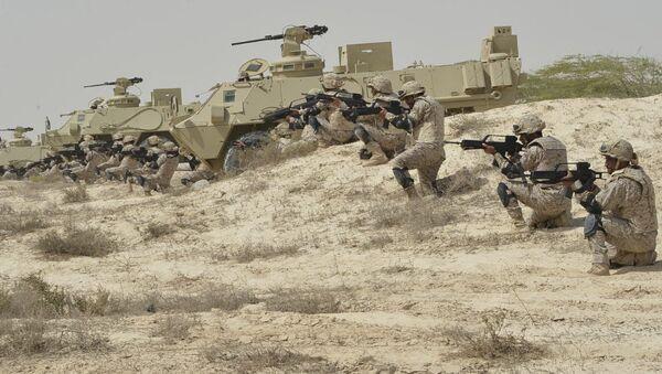 Военослужащие Вооруженных сил Саудовской Аравии. Архивное фото