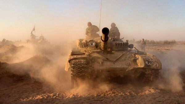 Танки сирийской армии. Архивное фото