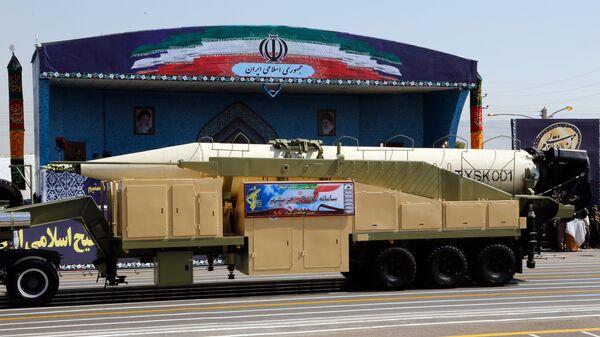 Иран подтвердил испытание баллистической ракеты