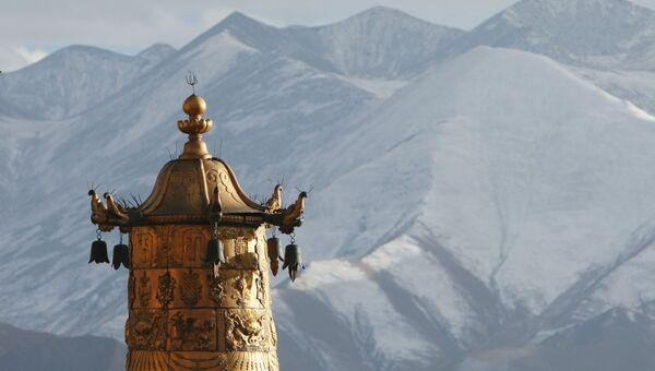 Монастырь Дрепунг. Лхаса. Тибет.