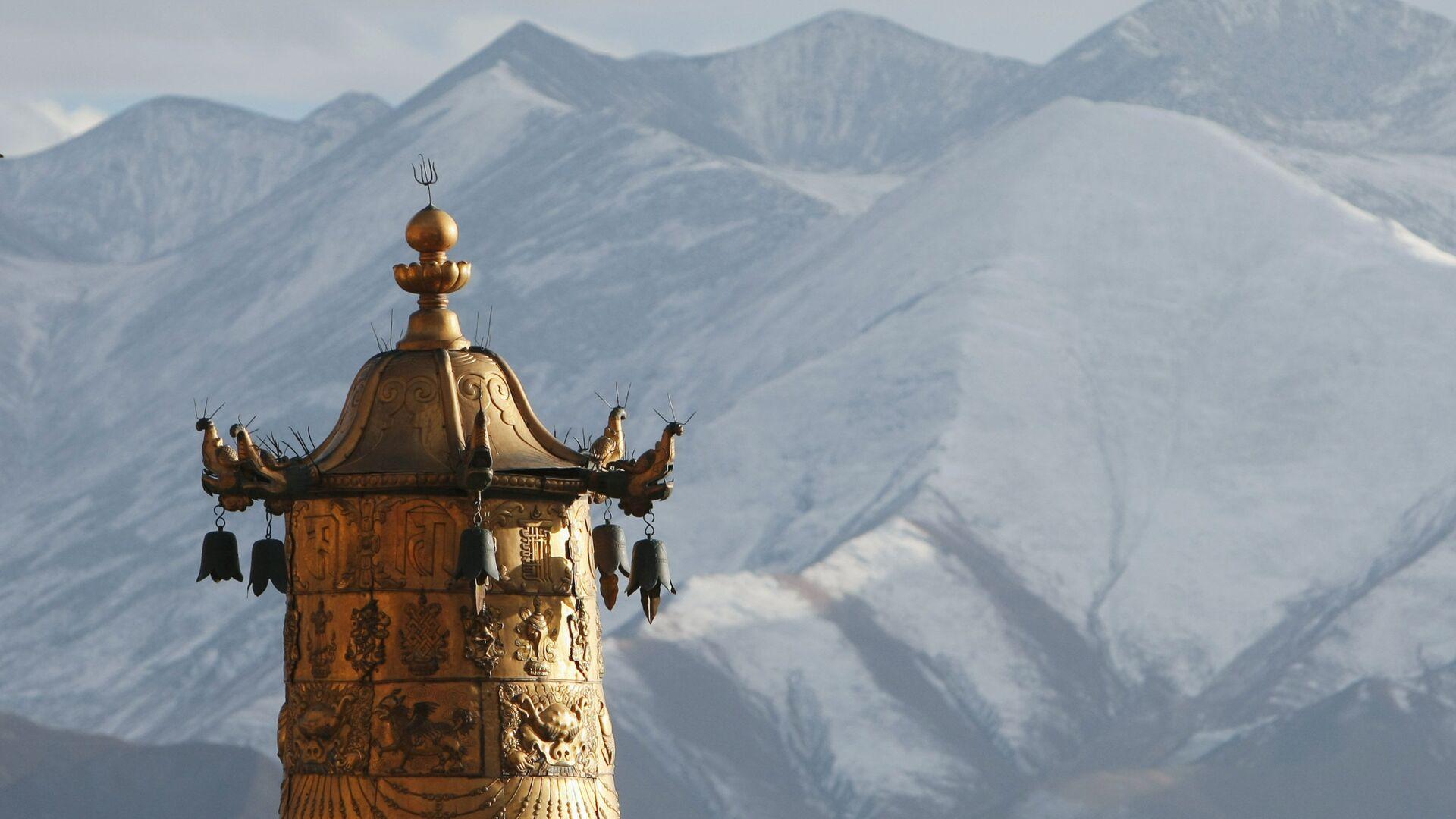 Монастырь Дрепунг. Лхаса. Тибет. - РИА Новости, 1920, 09.07.2020