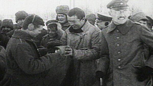 Братание солдат на Восточном фронте Первой мировой войны. Видеохроники