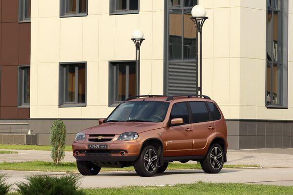 Автомобиль Chevrolet Niva Special Edition