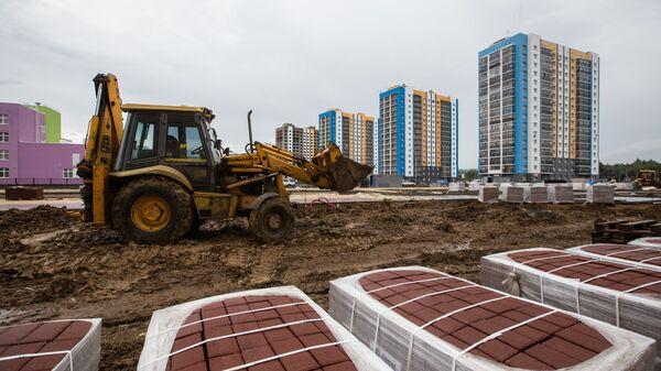 Строительство жилого комплекса в Саранске
