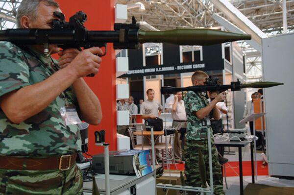III Международный салон вооружения и военной техники МВСВ-2008
