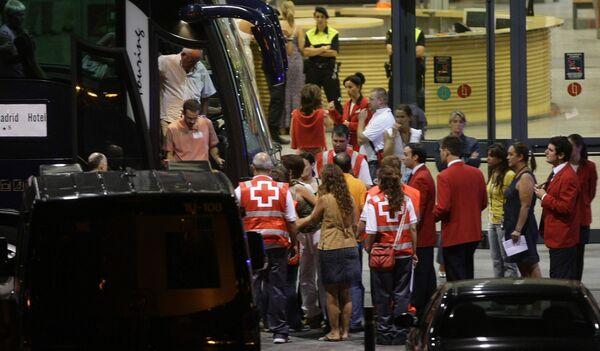 Авиакатастрофа в аэропорту Мадрида