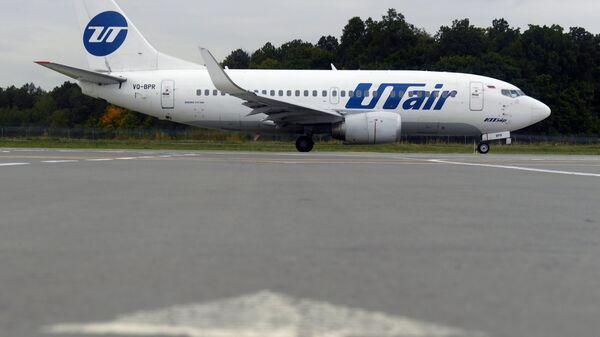 Самолет авиакомпании UTair. Архивное фото