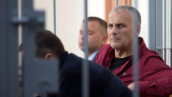 Заседание суда по делу экс-губернатора Сахалинской области Александра Хорошавина. Архивное фото