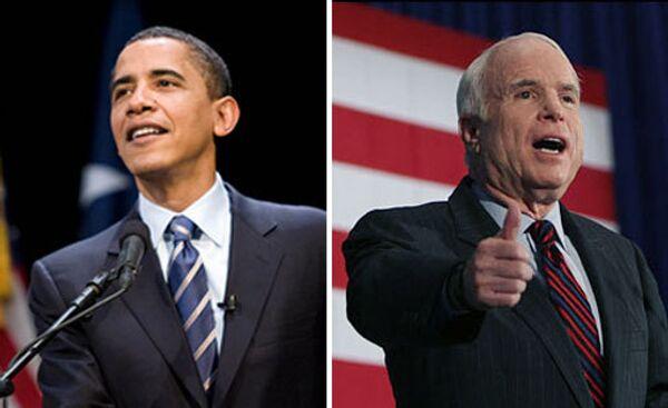 Барак Обама, Джон Маккейн