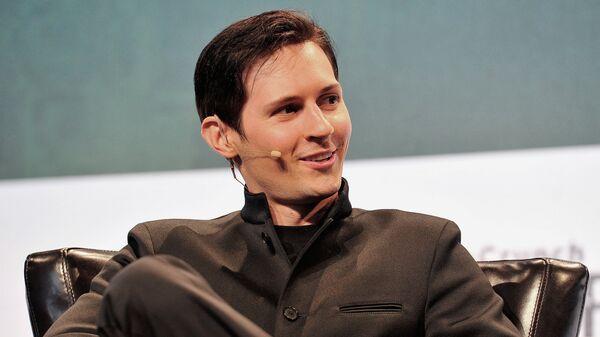 Создатель социальной сети ВКонтакте и мессенджера Telegram Павел Дуров. Архивное фото