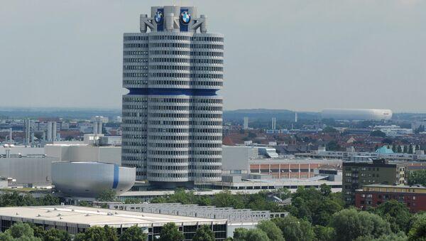 Штаб-квартира автоконцерна BMW. Архивное фото