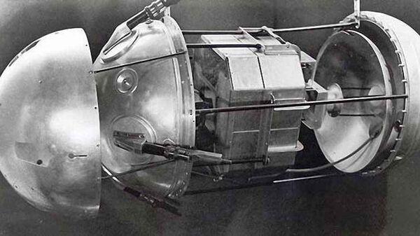 Первый советский искусственный спутник Земли. Архивное фото