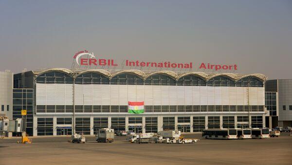 Аэропорт Эрбиля в Иракском Курдистане. 28 сентября 2017