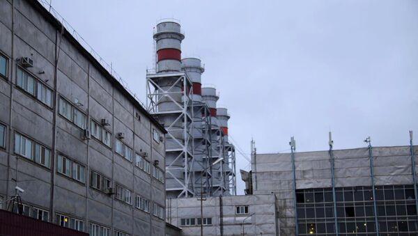 Здание Якутской ГРЭС. Архивное фото