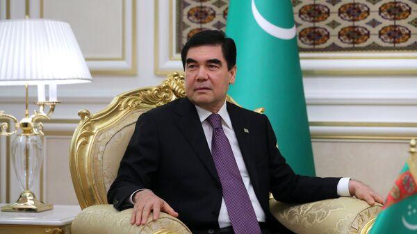 Президент Туркмении. Архивное фото