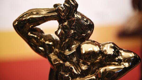 Статуэтка бронзового Орфея на церемонии вручения телевизионной премии ТЭФИ 2017