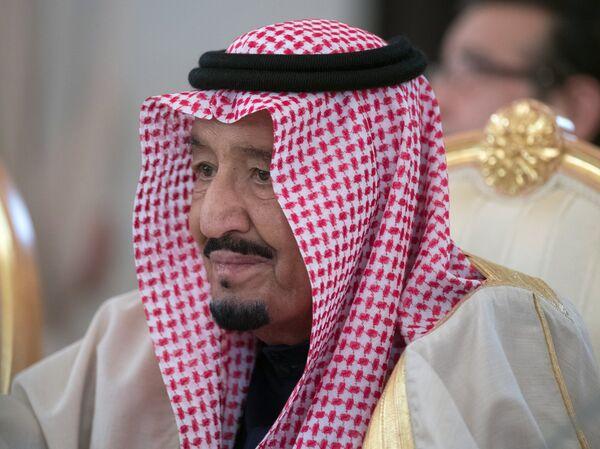 King of Saudi Arabia Salman Ben Abdel Aziz Al Saud