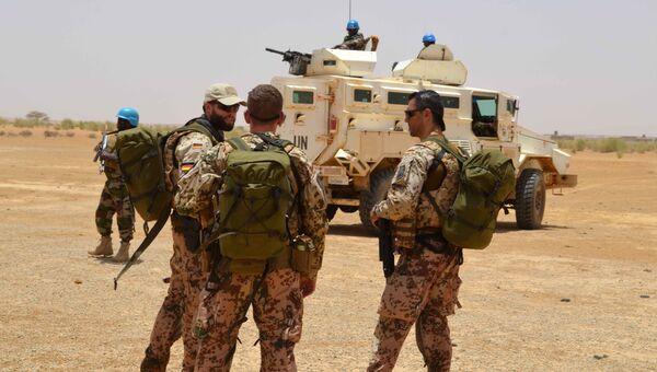 Миссия ООН по многомасштабной комплексной стабилизации в Мали.  Архивное фото