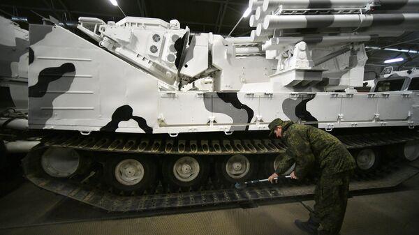 Зенитный ракетно-пушечный комплекс (ЗРПК) Панцирь-СА