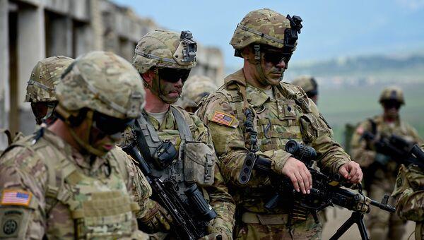 Военнослужащие армии США. Архивное фото