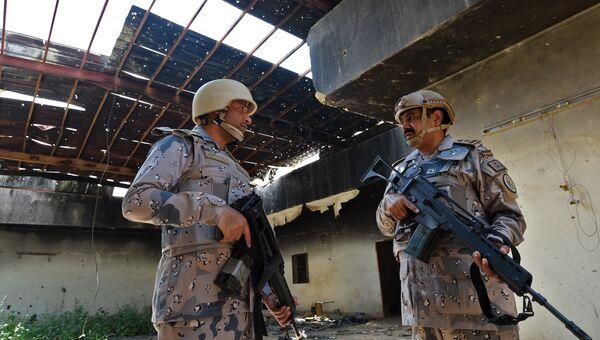 Военнослужащие Саудовской Аравии. Архивное фото