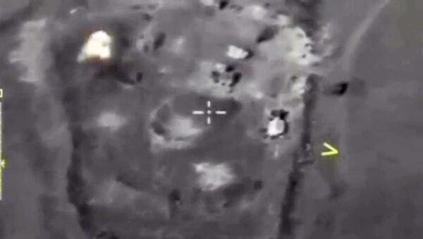Авиаудары ВКС РФ по объектам террористов в Сирии. 10 октября 2017