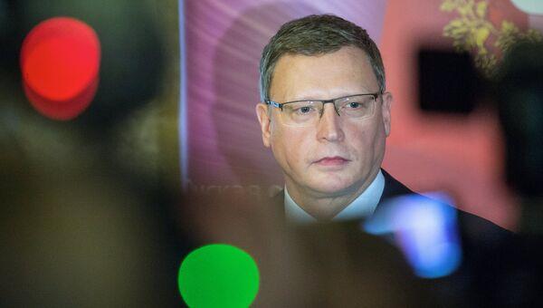 Временно исполняющий обязанности губернатора Омской области Александр Бурков. Архивное фото