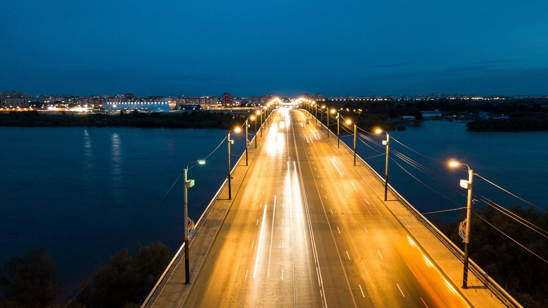 Мост имени 60-летия ВЛКСМ в Омске - РИА Новости, 1920, 19.11.2020