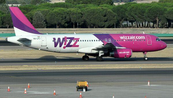 Самолет авиакомпании Wizz Air. Архивное фото