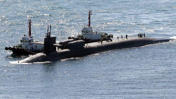 Американская подводная лодка. Архивное фото