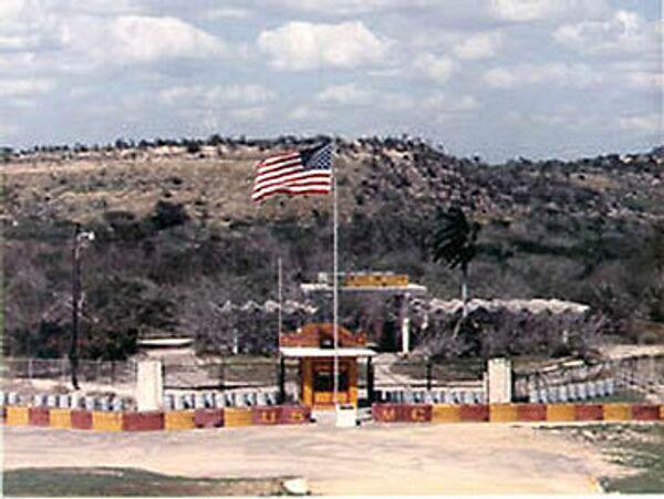Военная база ВВС США. Архив
