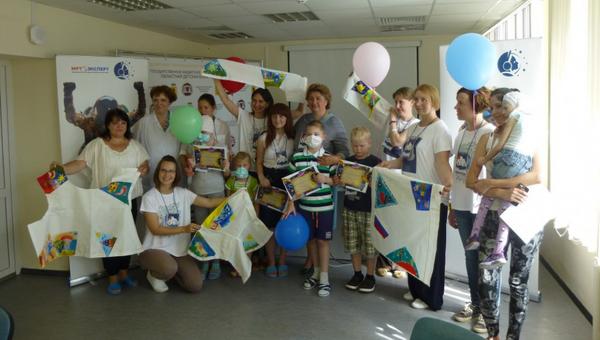 Международный благотворительный проект Скафандр в Областной детской больнице на территории Ярославской области