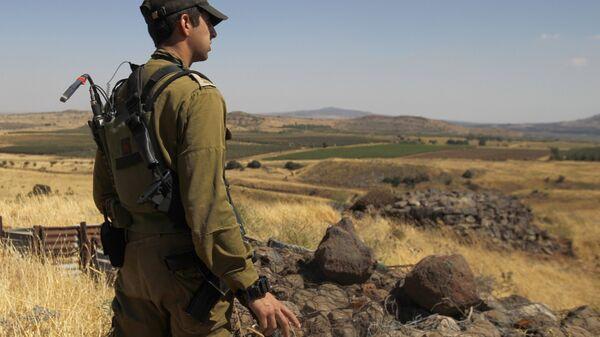 Израильский солдат. Архивное фото