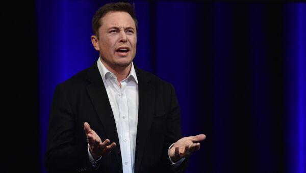 Предприниматель и основатель SpaceX Илон Маск. Архивное фото