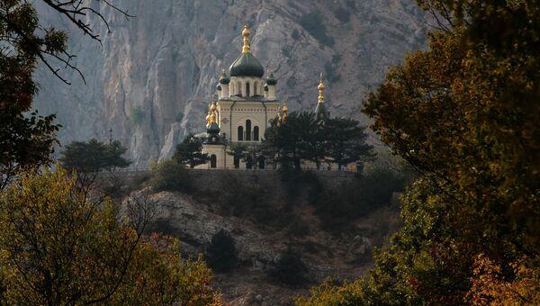 Церковь Воскресения Христова в поселке городского типа Форос в Крыму