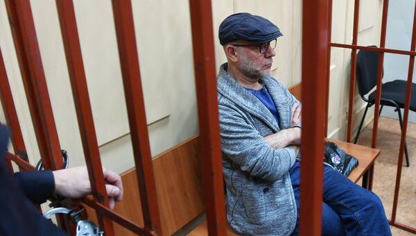 Бывший директор Гоголь-центра Алексей Малобродский в Басманном суде Москвы. 17 октября 2017