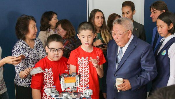 Открытие детского технопарка Кванториум в Якутске