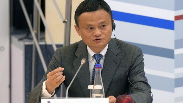 Исполнительный председатель Alibaba Group Джек Ма. Архивное фото
