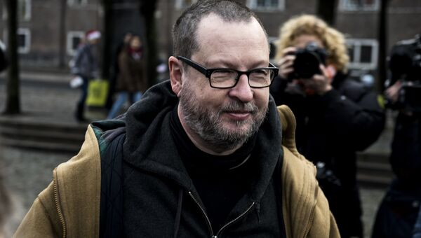 Кинорежиссер Ларс фон Триер в Копенгагене. Архивное фото