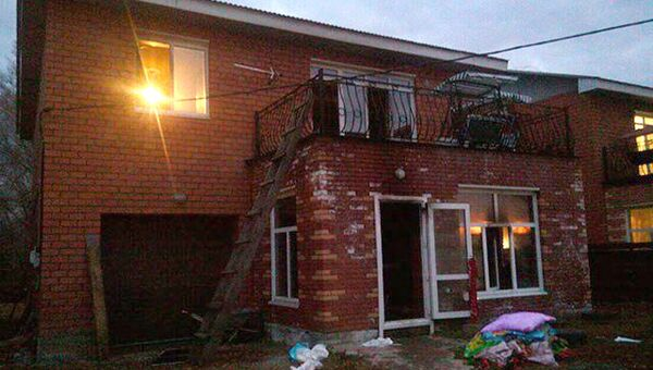 Дом престарелых в Иркутске, где произошел пожар