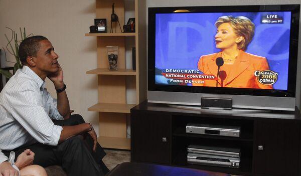 Хилари Клинтон убедила демократов объединиться в поддержку Обаме