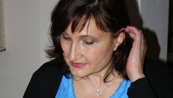 Учительница Любава Фридрихс