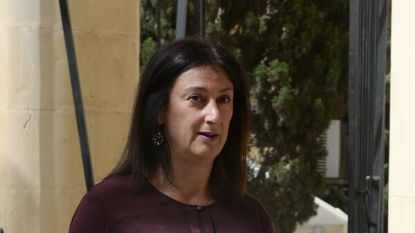 Журналистка Дафни Каруана Гализия