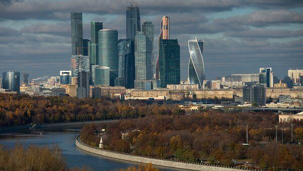 Город Москва. Архивное фото