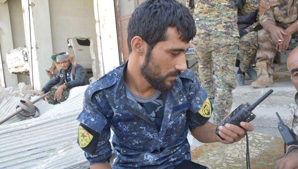 Бойцы курдских отрядов самообороны. Архивное фото