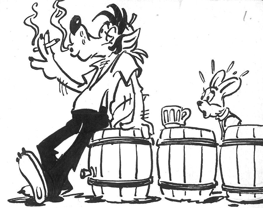 Комикс по мотивам мультфильма Ну, погоди!